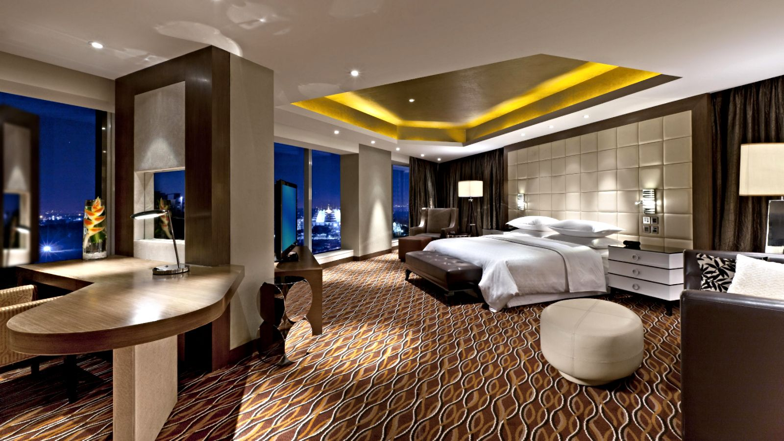 Presidential Suite at Sheraton Grand Bangalore Hotel at Brigade Gateway